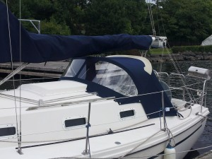 boat cover Beneteau sprayhood