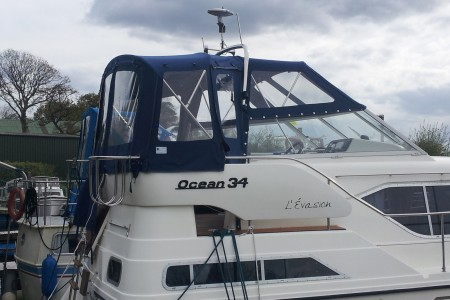Ocean 34 broom cover