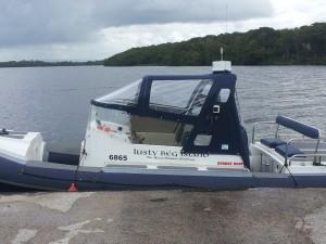Redbay rib canopy boat covers ireland